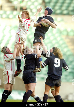 Rugby Union - Womens RBS 6 Nations Championship 2005 - England v Scotland - Twickenham - Stock Image