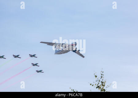 airplane, military aircraft - Stock Image