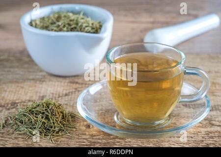 Rosemary Tea - Stock Image