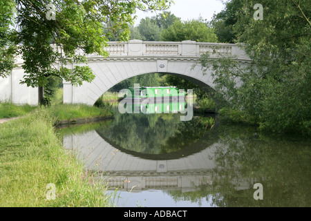 The Grove Bridge No 164 over the Grand Union Canal Watford Herts - Stock Image