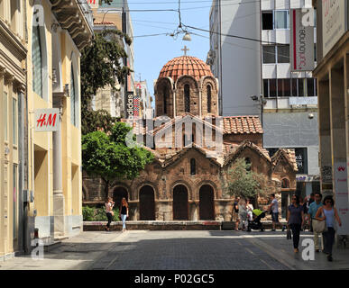 Church of Panaghia Kapnikarea, Athens - Stock Image