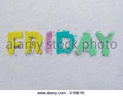 friDay' - Stock Image