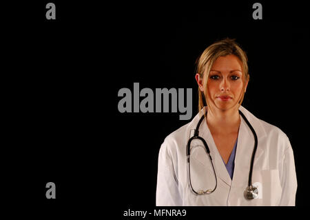 Female Doctor   Ref: CRB425_10046_092  Compulsory Credit: Synercomm/Photoshot - Stock Image