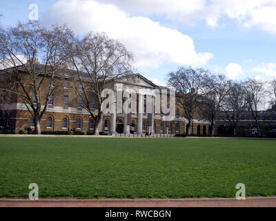 View of the Saatchi Gallery seen from Duke of York Square, Chelsea, London, UK - Stock Image