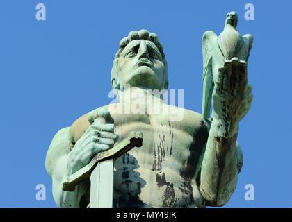 Victor Monument, Kalemegdan, Belgrade, Serbia - Stock Image