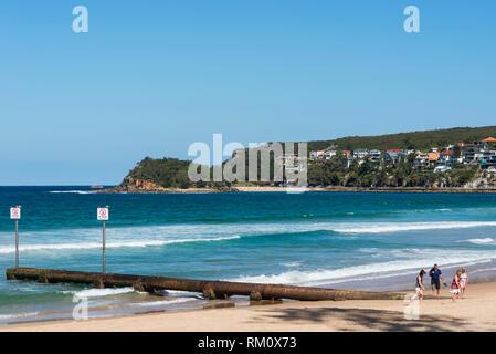 Sydney's hidden gem at Manly. - Stock Image