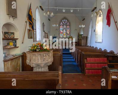 Church of All Saints, Waldringfield, Suffolk, England, UK - Stock Image