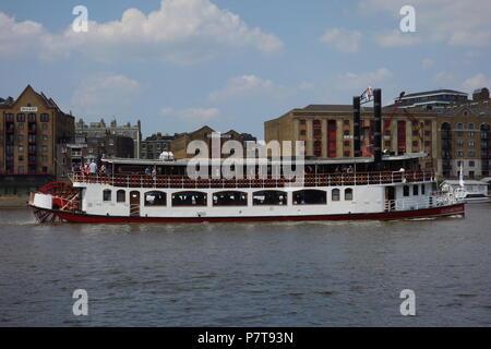 River Thames, London, UK - Stock Image