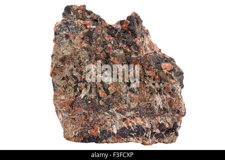 Nepheline-cancrinite syenite - Stock Image