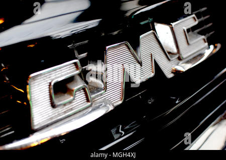 GMC logo cars - Stock Image