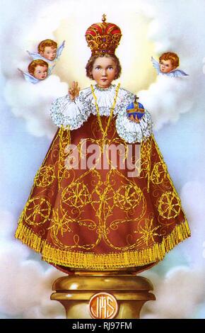 THE HOLY INFANT OF PRAGUE - Stock Image