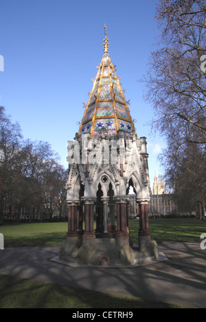 The Buxton Memorial Victoria Tower Gardens Westminster London - Stock Image