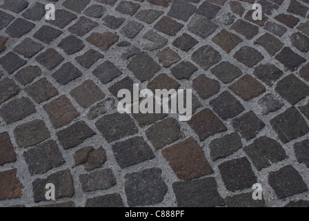 Brick Road - Stock Image