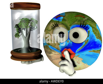 nature protection - Stock Image
