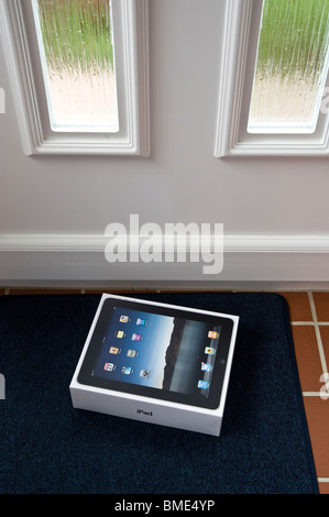 The long awaited Apple iPad is delivered by post. - Stock Image