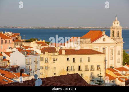 Alfama, Lisbon, Portugal - Stock Image