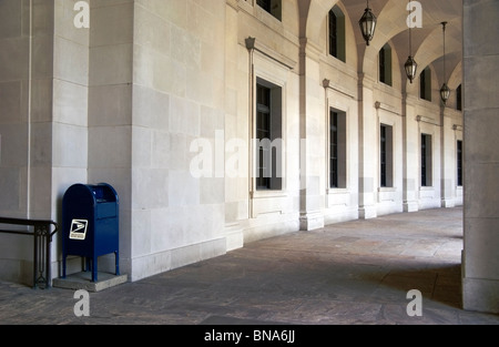 ARIEL RIOS BUILDING (formerly the Post Office Building) in Washington DC. The building also has some sections of - Stock Image