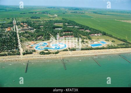 Veneto Bibione Coast - Stock Image