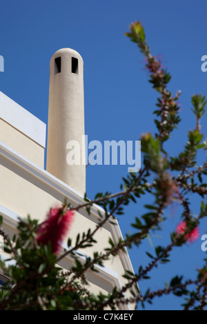 Portugal, Algarve, Silves, Chimney - Stock Image