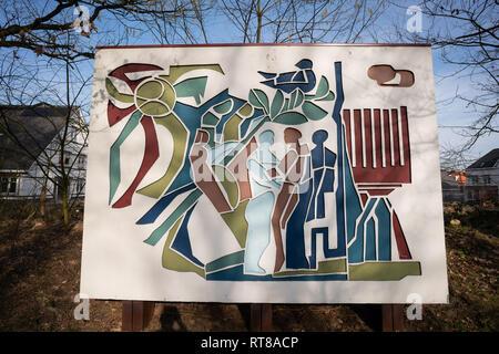 77/5000 Monument Sinai Center Amersfoort, the Netherlands, remembers Holocaust WO II - Stock Image