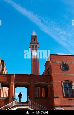 Joseph Chamberlain Memorial Clock Tower, Birmingham - 11 November 2016 - Stock Image