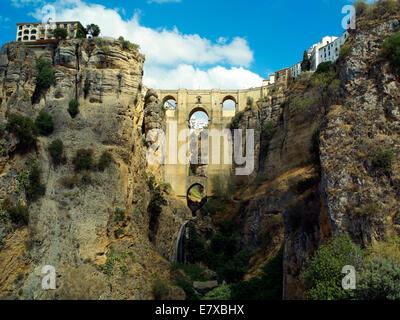 El Tajo Gorge in Ronda - Stock Image