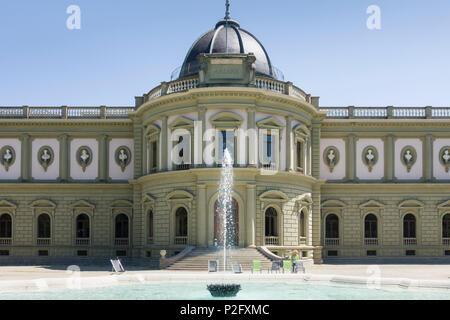 The Ariana Museum / Musee Ariana, Geneva / Geneve, housing the Musee Suisse de la Ceramique et du Verre, 1870s-80s. - Stock Image