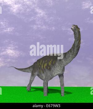 Dinosaurier Argentinosaurus / dinosaur Argentinosaurus - Stock Image