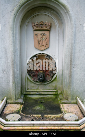 Old Disused Victorian Drinking Fountain - Stock Image