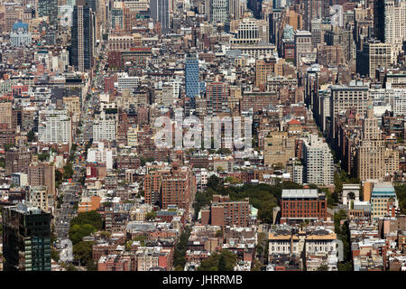 Area between 6th and 5th Avenue - Stock Image