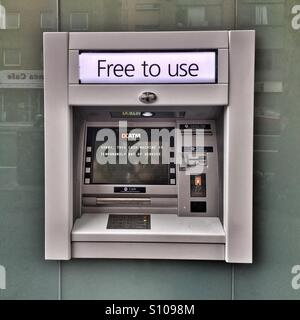 ATM Machine. Free to use. Out of order. - Stock Image