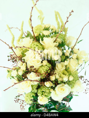 bunch of flowers - Stock Image