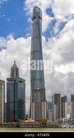 Shanghai Tower - Stock Image