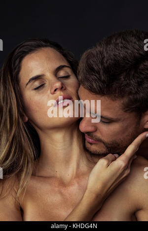 Passionate young couple - Stock Image