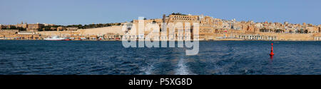 Architecture to La Vallette-Malte - Stock Image