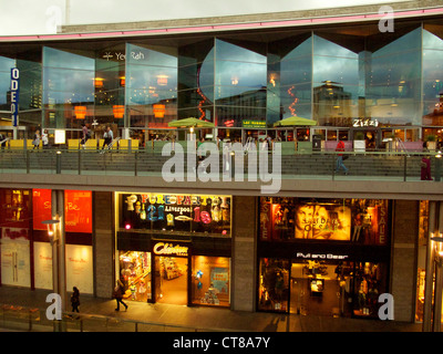 Liverpool One shopping Centre, September 2011. - Stock Image