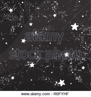 Night sky full of stars - Stock Image