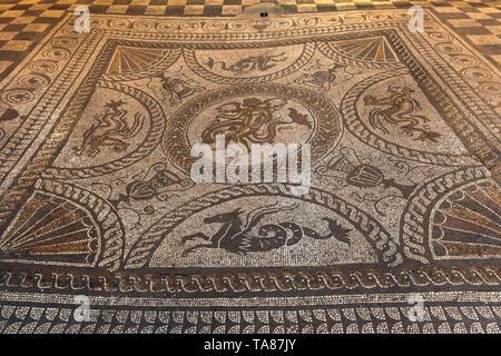 Fishbourne Roman Palace, UK - Stock Image