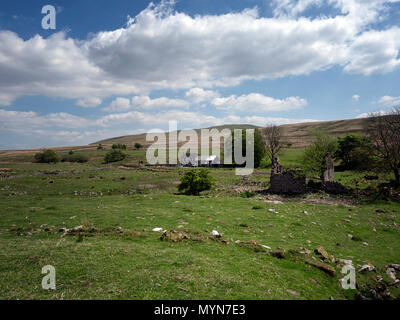 Tir-yr-onen, near Penderyn, Brecon Beacons, Wales, UK - Stock Image
