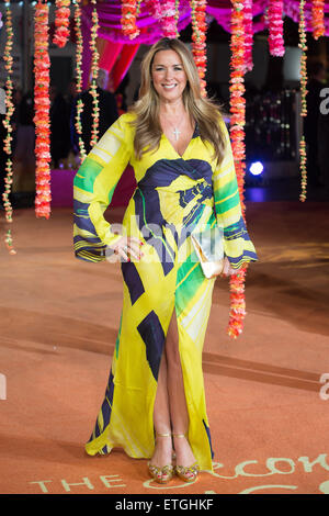 Premiere of 'The Second Best Exotic Marigold Hotel' - Arrivals  Featuring: Claire Sweeney Where: London, - Stock Image
