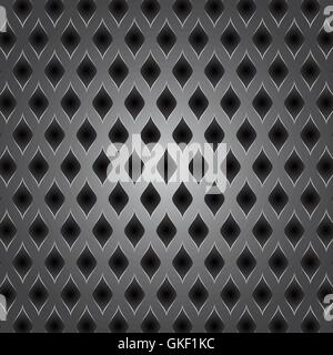 Abstract metal background. Vector illustration. - Stock Image