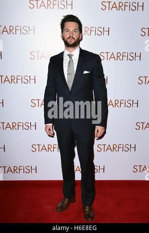 Tom Riley attending the UK premiere of Starfish at the Curzon Mayfair cinema in London. PRESS ASSOCIATION Photo. - Stock Image