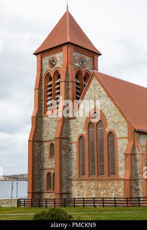 Christ Church Cathedral, Stanley, Falkland Islands. - Stock Image