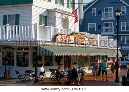 Goldenrod Kisses,York Beach, Maine, USA - Stock Image
