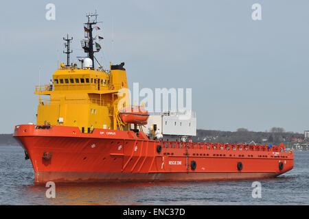 Offshorevessel DP Cirrus - Stock Image