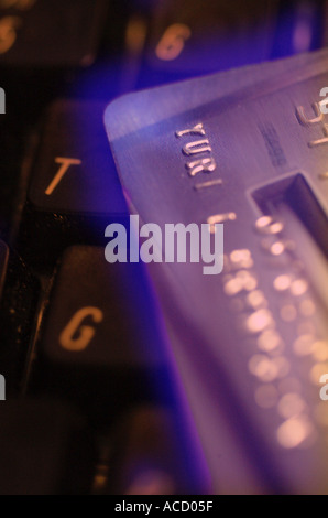On line Purchase - Stock Image