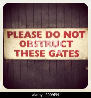 No parking!!! - Stock Image