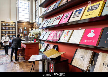 London England United Kingdom Great Britain West End St James's Piccadilly Maison Assouline luxury coffee table book publisher bookstore lifestyle bra - Stock Image
