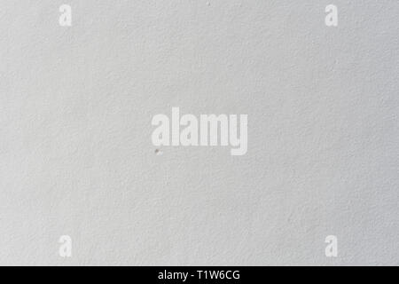 Old white wallpaper wall, texture - Stock Image