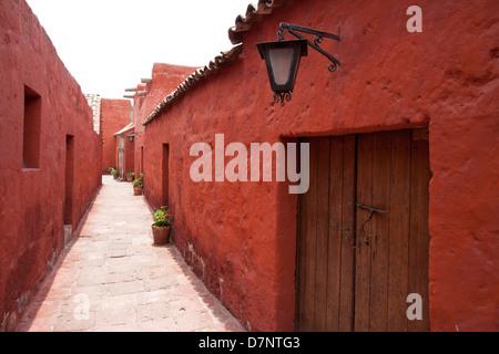 The Monastery of Santa Catalina de Siena in Arequipa Peru - Stock Image